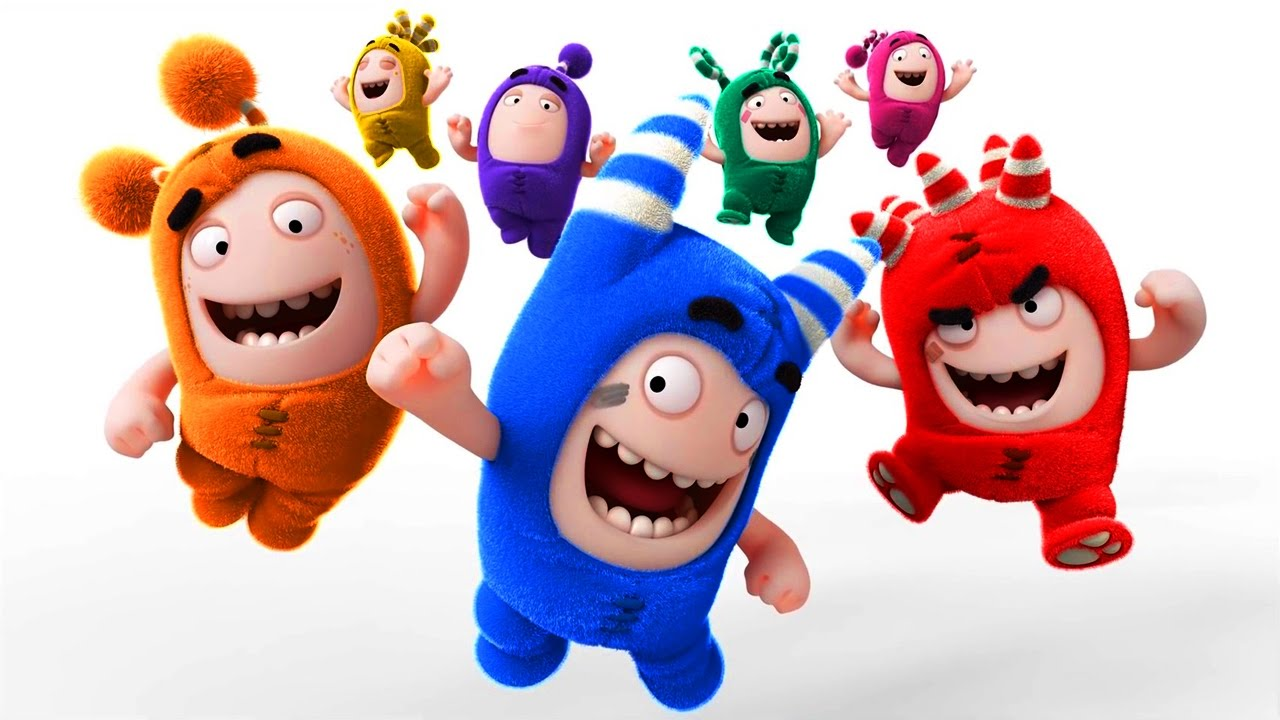 Funny Cartoon Oddbods A Boy Girl Thing Mini Cartoon Movie ...