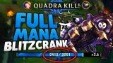 BLITZCRANK FULL MANA 'FAIL' BUILD 2.0 [Season 6 – League of Legends]