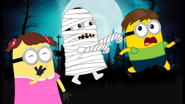 Minions Banana vs Mummy Attack Crying Funny Story New Episodes! Finger Family Song Nursery Rhymes