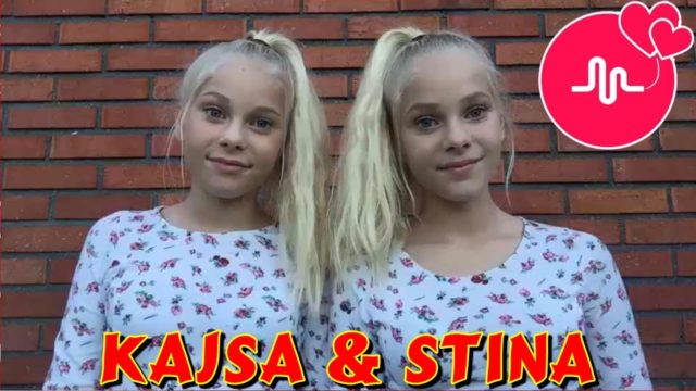 Best Musical.ly Collection : Kajsa Stina Twins Musical.ly – Best Funny Musical.ly Videos
