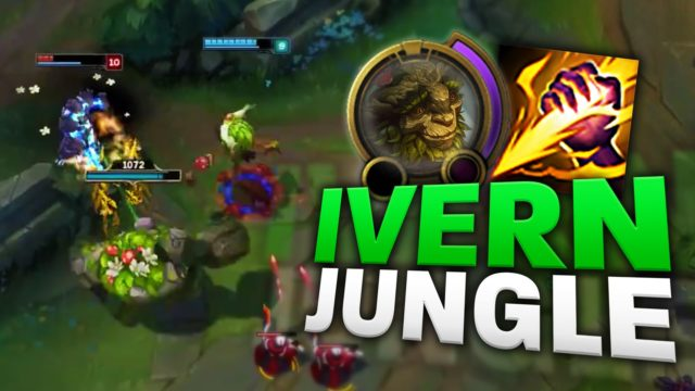 IVERN JUNGLE GAMEPLAY [League of Legends/LoL]