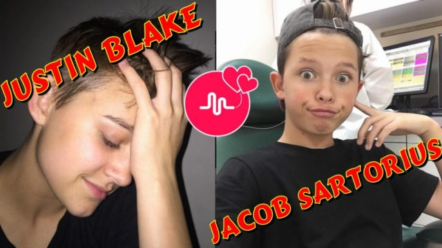 Jacob Sartorius vs Justin Blake | Musers Battle | Best Funny Musical.ly Videos