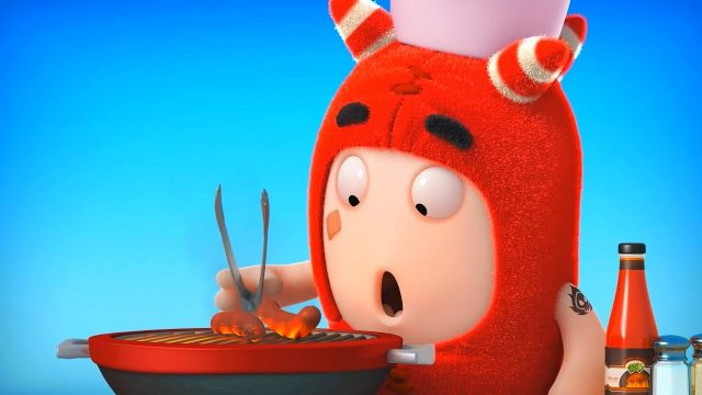 Fynny Cartoon Oddbods – Food Fiasco #3 Cartoons For Children