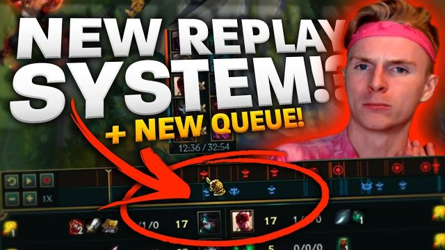 REPLAY SYSTEM IS READY AFTER 5 YEARS | DYNAMIC QUEUE IS GETTING REMOVED | League of Legends News