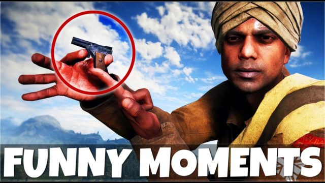 FUNNIEST BATTLEFIELD 1 MOMENTS EVER | Trolling With The Smallest Gun In BF1 (Glitches & More)