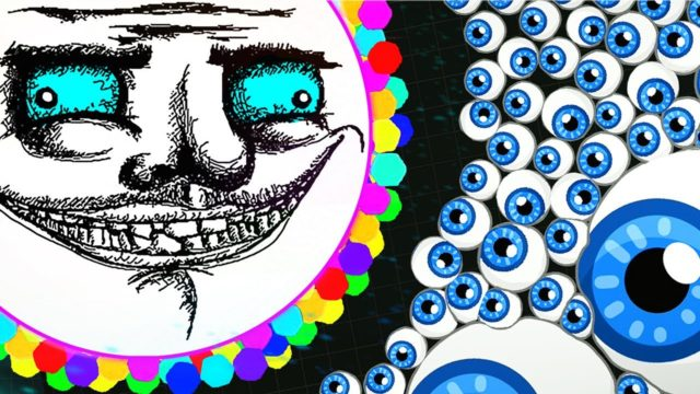 TROLLING PEOPLE IN AGARIO | NEW Animated Skins (Agar.io Funny Moments)